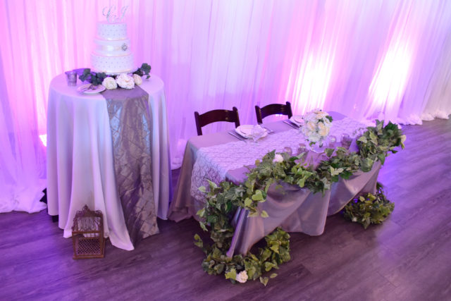 Wedding Tables and Decorations